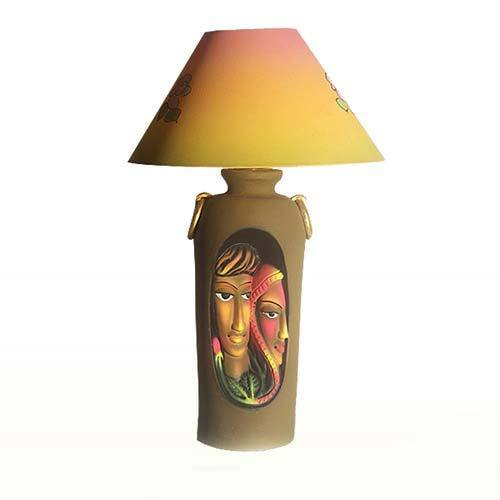 Terracotta coloured lamp view specifications details of terracotta coloured lamp aloadofball Choice Image
