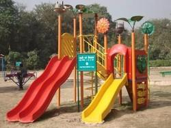 Play Ground Slide N Stand