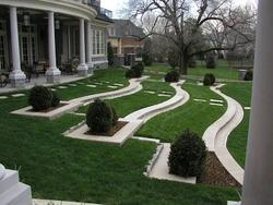 Front Yard Grass Landscaping, For Exterior