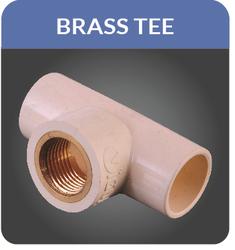 CPVC Brass Tee