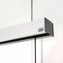 Sliding Door System with Concealed Tracks