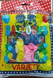Variety Flower Balloon Pack Of 25