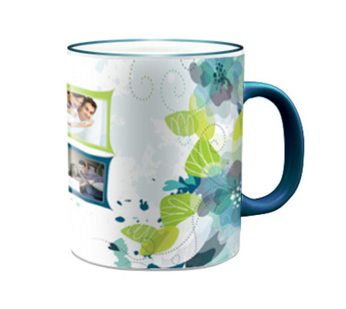 Fringe Coloured Photo Mugs