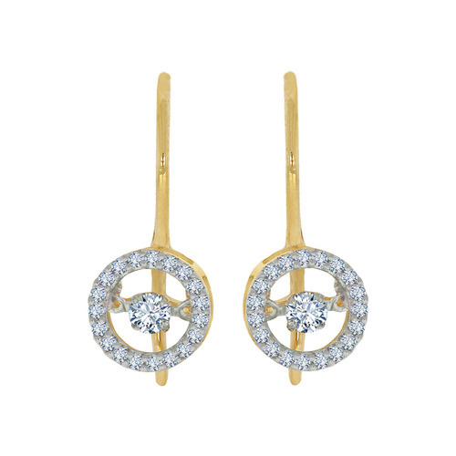 Glo Dancing Diamond Earring