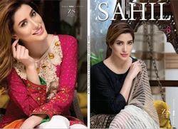 Chiffon Sahil Vol 8 Suits, Machine wash