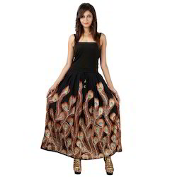 Girls Long Tops Designer Skirt