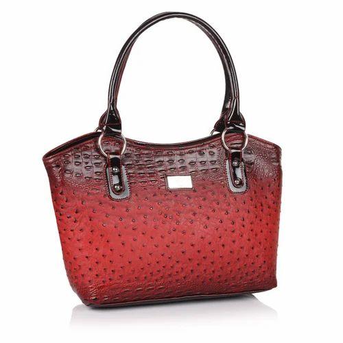 Red Non Leather Shoulder Bag