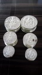 1gm To 100gm. Silver Coins