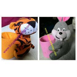 Pen Stand with Soft Toy