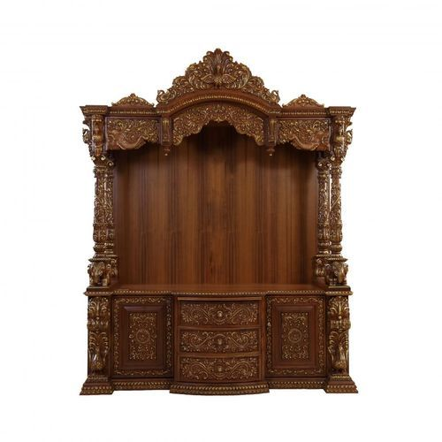 exceptional wooden temple with cabinet pictures