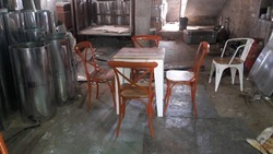 Cafeteria Table Chair Set