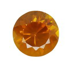 Orange Sapphire Gem Stone
