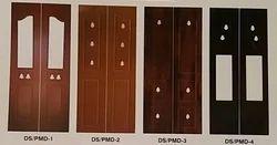 Plain Exterior Membrane Pooja Door, for Home