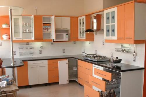 Modular Kitchen, Modern Kitchens, Modular Kitchen Furniture, Modular ...