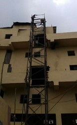 Mild Steel Industrial Lift, Capacity: 1-2 Ton