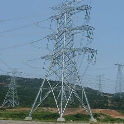 Steel Transmission Line Tower
