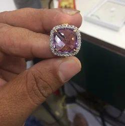 Shri Swami Gems&Jeweler紫水晶钻戒
