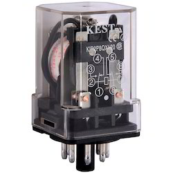 Kest 10A Electrical Power Relay, For Electric Motor Switches, Voltage: 120 Vac (coil Voltage)