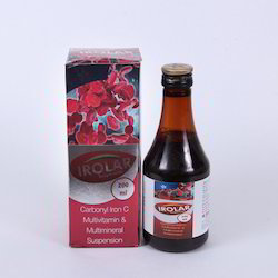Irolar Carbonyl Iron C Multivitamin Syrup, Bottle Size: 200 ml