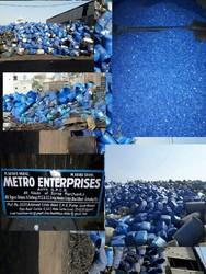 HDPE BLUE DTUM RIGEND SCRAP