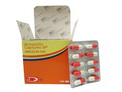 Amoxicillin Capsules BP 250 mg