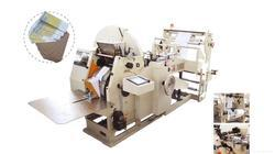 Paper Bag Making Machine with Two Colour Flexographic Printing