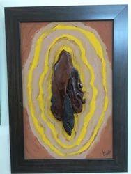 Wooden Ganesha Mural