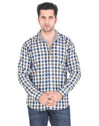 Green Meraki Reversible Checks Shirts