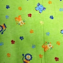 Cotton Printed Flannel Fabric