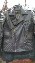 Siskin Gents Leather Bike Jacket