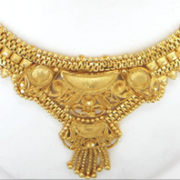 sets gold set earring necklace beautiful indian traditional