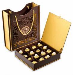 Chocolate Box For Wedding Invitation