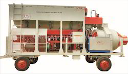 Mobile Automatic Concrete Batching Plant - 3 Bin Feeder