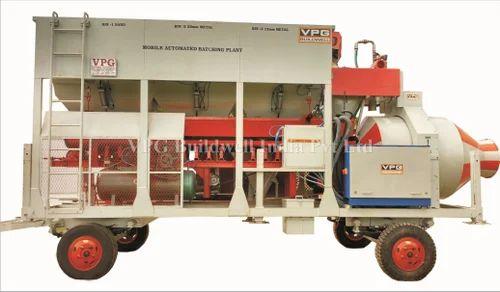 Mobile Automatic Concrete Batching Plant
