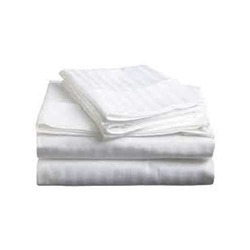 """Sizes Striped /""""White/"""" 1PCs Bed Fitted Sheet 100/% Egyptian Cotton Choose TC"""