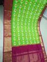 Silk Ikkat Sarees, 6.3 M (with Blouse Piece