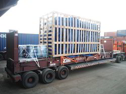 Flat Rack Container Lashing Services