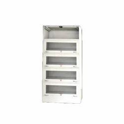 Grey Industrial Metal Cabinet