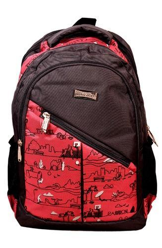 94c76e9043f7 SB Maysha Rexine Printed School Backpack