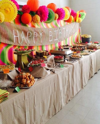 Catering Service for Birthday