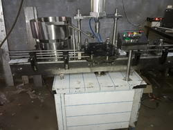 Fully Automatic 1 Head Crown Capping Machine.