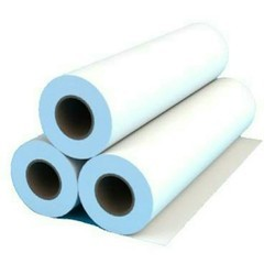 Plain White Dining Paper Roll, For Catering, GSM: 120 GSM