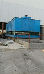 Cuboid FRP Induced Draft Cooling Tower