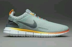 Silver Men Nike Free Og Breathe ' s Running Sports Shoes, Size: 41,