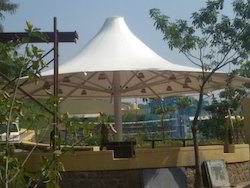 Anand PVC Cone Tensile Structure for Restaurant, Outdoor