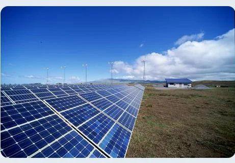 Utility Scale Solar Power Plant
