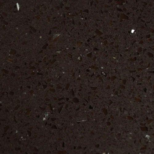 Dark Brown Quartz Slab 10 15 Mm Rs