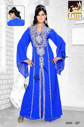 Blue Designer Kaftan