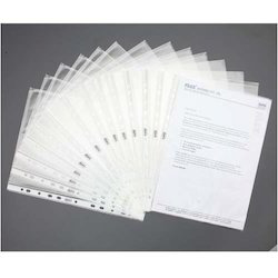 Solo SP 101- A4 11-Hole Sheet Protector - White