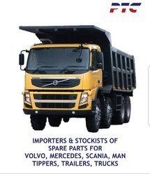 Behr and KS Volvo Tipper Trailer Bus Parts, FM300 and P410